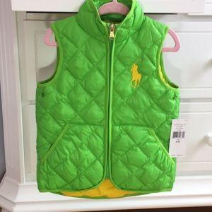 Ralph Lauren Puffer Vest - Toddler Boy or Girl